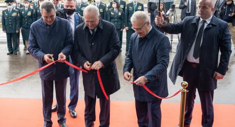 Владимир Булавин принял участие в церемонии открытия нового здания Сибирской электронной таможни в Красноярске