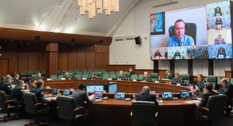 Состоялось заседание коллегии ФТС России
