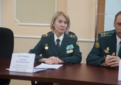 Руководителем Омской таможни стала Татьяна Терехина