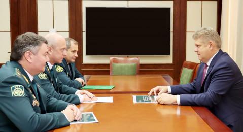 Состоялась рабочая встреча полномочного представителя Президента РФ в СФО с начальником СТУ